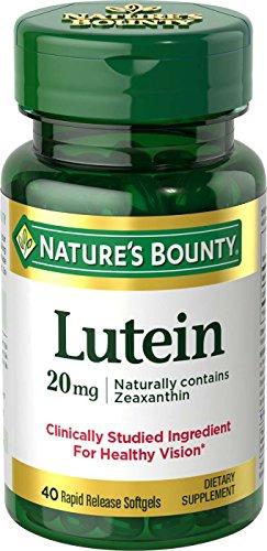 Merchandise 1891006 Natures Bounty Lutein 20 mg - 40 Count