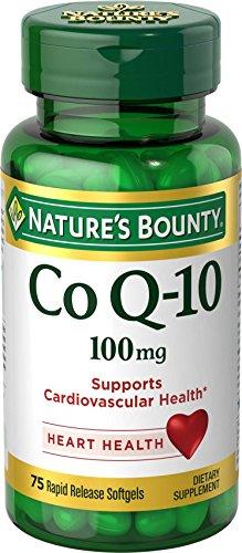 Merchandise 1891278 Natures Bounty Q Sorb 100 mg 75 Count