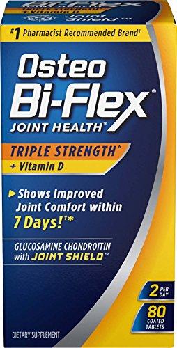 Merchandise 1891642 Osteo Bi-Flex Advanced Triple Strength with Vitamin D3 80 Caplets