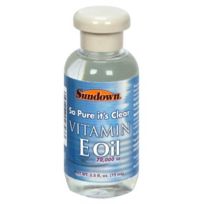 Merchandise 1892088 Sundown Naturals Sundown Naturals Pure Vitamin E-Oil 70000 IU-2.5 oz