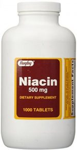 Merchandise 1893599 Rugby Niacin 500 mg 1000 Tablets