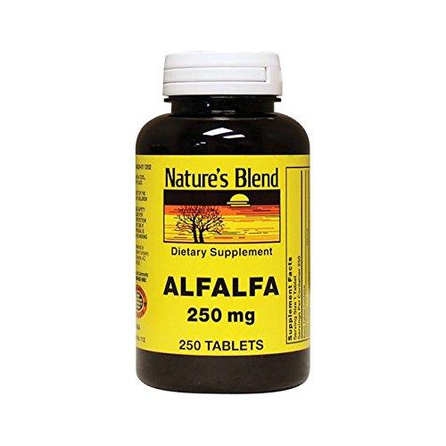 Merchandise 1895354 Natures Blend Alfalfa 250 mg 250 Tablets