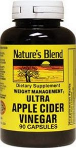 Merchandise 1895397 Natures Blend Ultra Apple Cider Vinegar 600 mg 90 Capsules