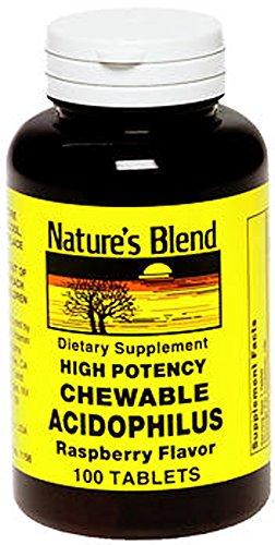 Merchandise 1895567 Natures Bounty Chew Acidophls Raspberry 100 Tablet