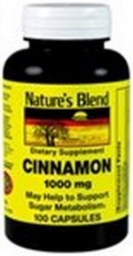 Merchandise 1895583 Natures Blend Cinnamon 1000 mg 100 Capsules