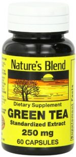 Merchandise 1896725 Natures Blend Green Tea Extract 250 mg 60 Capsules