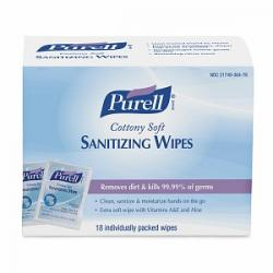 Merchandise 3275949 Purell Hand Soft Sanitizing Wipes 18 Count
