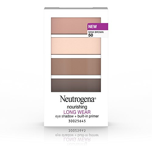 Merchandise 47028345 Neutrogena Nourishing Long Wear Eye Shadow Plus Built-In Primer 50 Mink Brown 0.24 oz