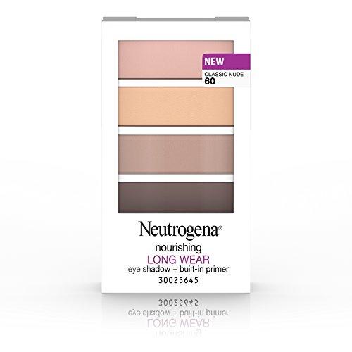 Merchandise 47028353 Neutrogena Nourishing Long Wear Eye Shadow Plus Built-In Primer 60 Classic Nude 0.24 oz