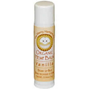 Merry Hempsters 218777 0.14 oz Vegan Hemp Vanilla Tubes Lip Balms