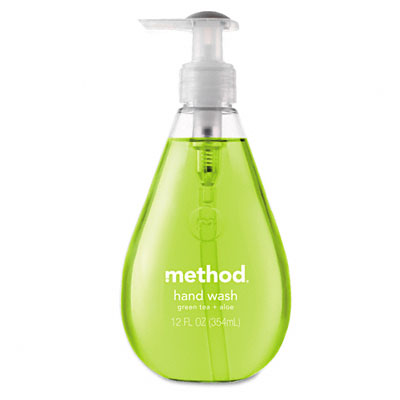 Method 00033 Hand Wash- Green Tea Aloe Liquid- 12 oz Bottle