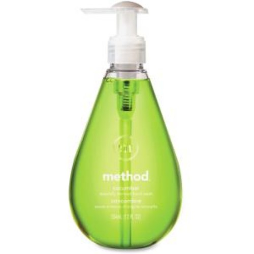 Method Products MTH00029CT Gel Hand Wash Cucumber Scent Bright Green - 12 oz.