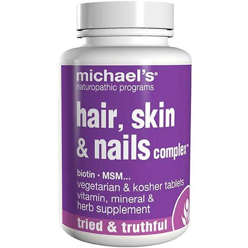 Michaels Naturopathic 364070 Hair Skin & Nails Complex 90 Tablets
