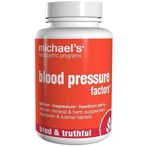 Michaels Naturopathic 364190 Blood Pressure Factors 90 Tablets