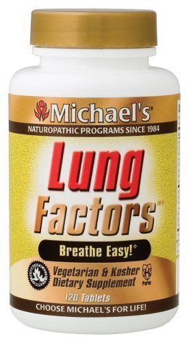 Michaels Naturopathic 364281 Lung Factors 120 Tablets