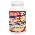 Michaels Naturopathic 364700 Adult Chewable Multi 60 Tablets