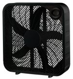 Midea International 218061 20 in. WP Black Box Fan