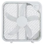 Midea International 218062 20 in. WP White Box Fan