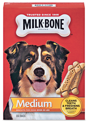Milk-Bone 79100514100 Medium Milk Bone Dog Treat 24 oz