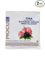 Mocu 661429 Chia Blackberry Hibiscus Tea Drink - 5 Packet