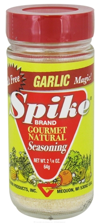 Modern Products 2.25 Ounce Spike Gourmet Natural Seasoning - Garlic Magic Case Of 6