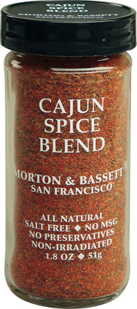Morton And Bassett 1.6 Ounce Cajun Spice Blend Case Of 3