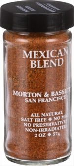Morton And Bassett 2 Ounce Seasoning - Mexican Spice Blend Case Of 3