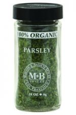 Morton Bassett Organic Parsley .28-Ounce Jars -Pack of 3