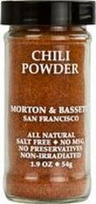 Morton & Bassett B02241 Morton & Bassett All Natural Chili Powder -3x1.9oz
