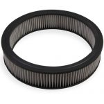 Mr Gasket G12-1420G 14 x 3 in. Replacement Air Filter Element - White