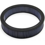 Mr Gasket G12-1422G 14 x 3 in. Replacement Air Filter Element - Blue