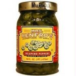 Mrs Renfros B79335 Mrs Renfros Nacho Sliced Jalapeno Peppers -6x16oz