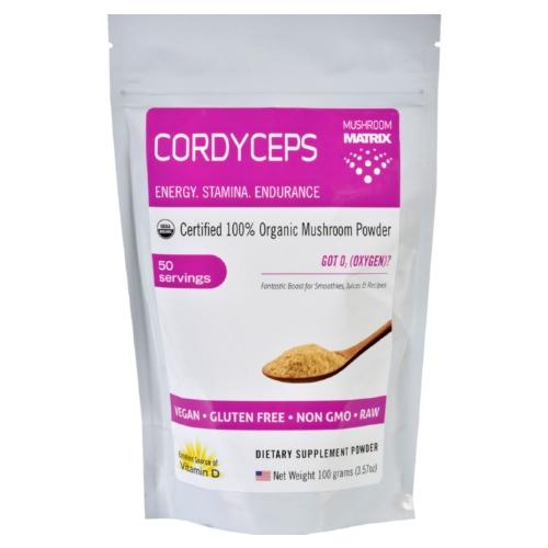 Mushroom Matrix 1551472 3.57 oz Matrix Cordyceps Militaris Organic Powder