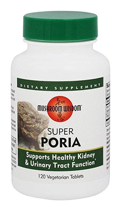 Mushroom Wisdom 632909 Super Poria - 120 Vegetarian Tablets