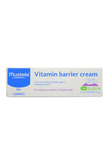 Mustela 3.88 oz Vitamin Barrier Cream