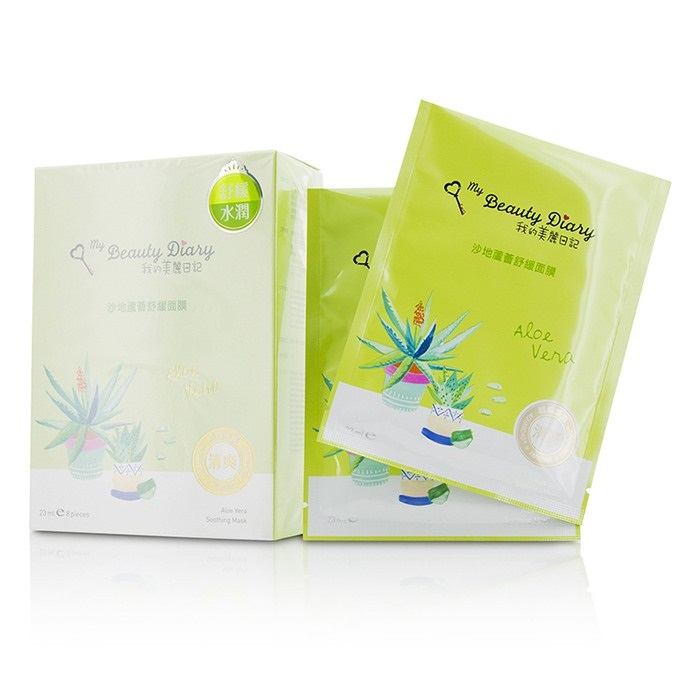 My Beauty Diary 207540 Mask - Aloe Vera Soothing - Optimal Hydration
