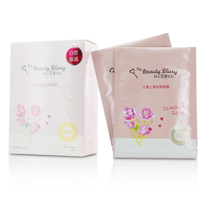 My Beauty Diary 207542 Mask - Damask Rose Lightening &Hydrating