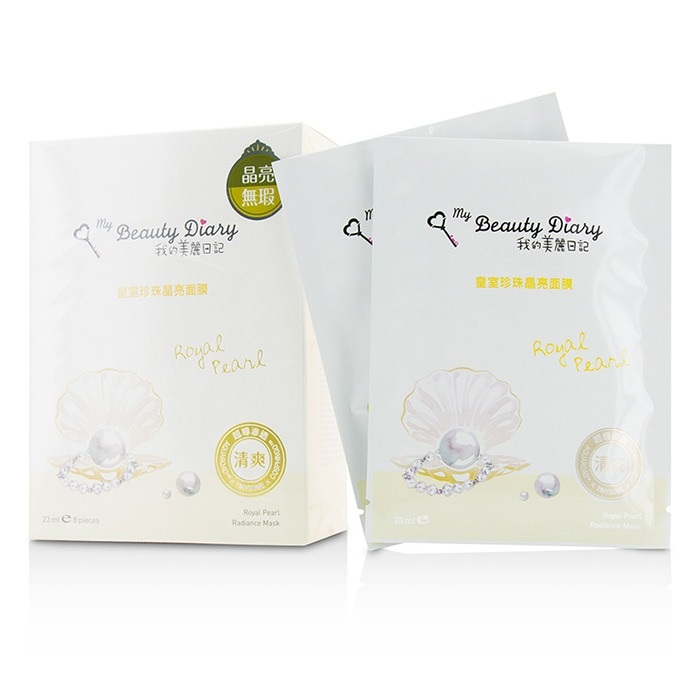 My Beauty Diary 207547 Mask - Royal Pearl Radiance - Brightening