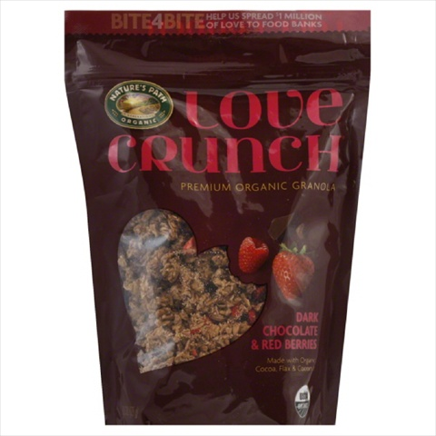 NATURES PATH GRANOLA LOVE DRK CHOC CRNCH-11.5 OZ -Pack of 6