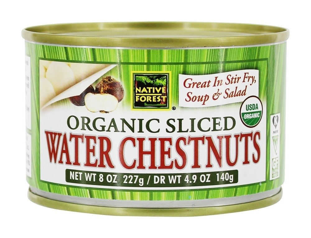 Native Forest BWA33891 6 x 8 oz Sliced Water Chestnut