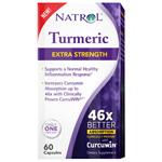 Natrol 230569 General Health Turmeric Extra Strength - 60 Capsules