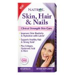 Natrol 230571 Skin Hair & Nails with Lutein 60 Capsules