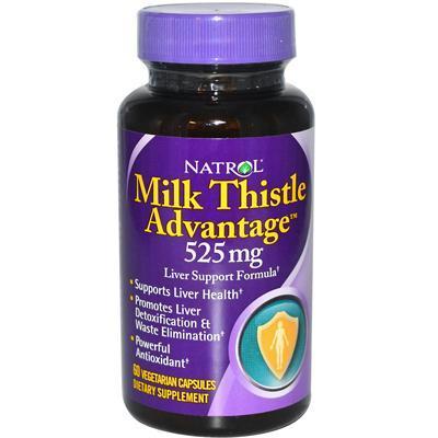 Natrol AY43348 Natrol Milk Thistle Advantage -1 Each