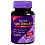 Natrol Brain Vitality & Anti-Aging Alpha Lipoic Acid Time Release 600 mg 45 tablets 222707