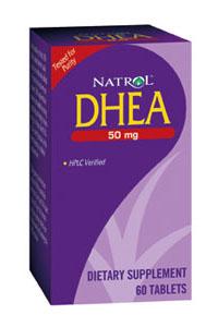 Natrol Brain Vitality & Anti-Aging DHEA 50 mg 60 tablets 219289