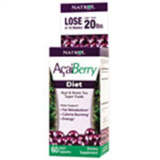 Natrol Energy & Weight Management Acai Berry Diet 60 capsules 222329