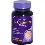 Natrol Energy & Weight Management L-Carnitine 500 mg 30 capsules 208769