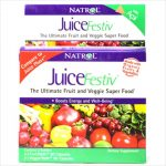 Natrol Juicefestiv Fruit And Veggie Super Food - 60 Capsules Each /