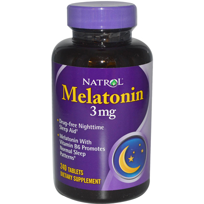 Natrol Melatonin - 3 Mg - 240 Tablets