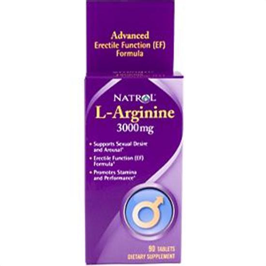 Natrol Mens Health L-Arginine 3 000 mg 90 tablets 221858